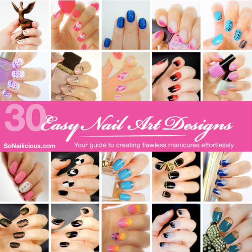 30_easy_nail_designs_nail_art_book