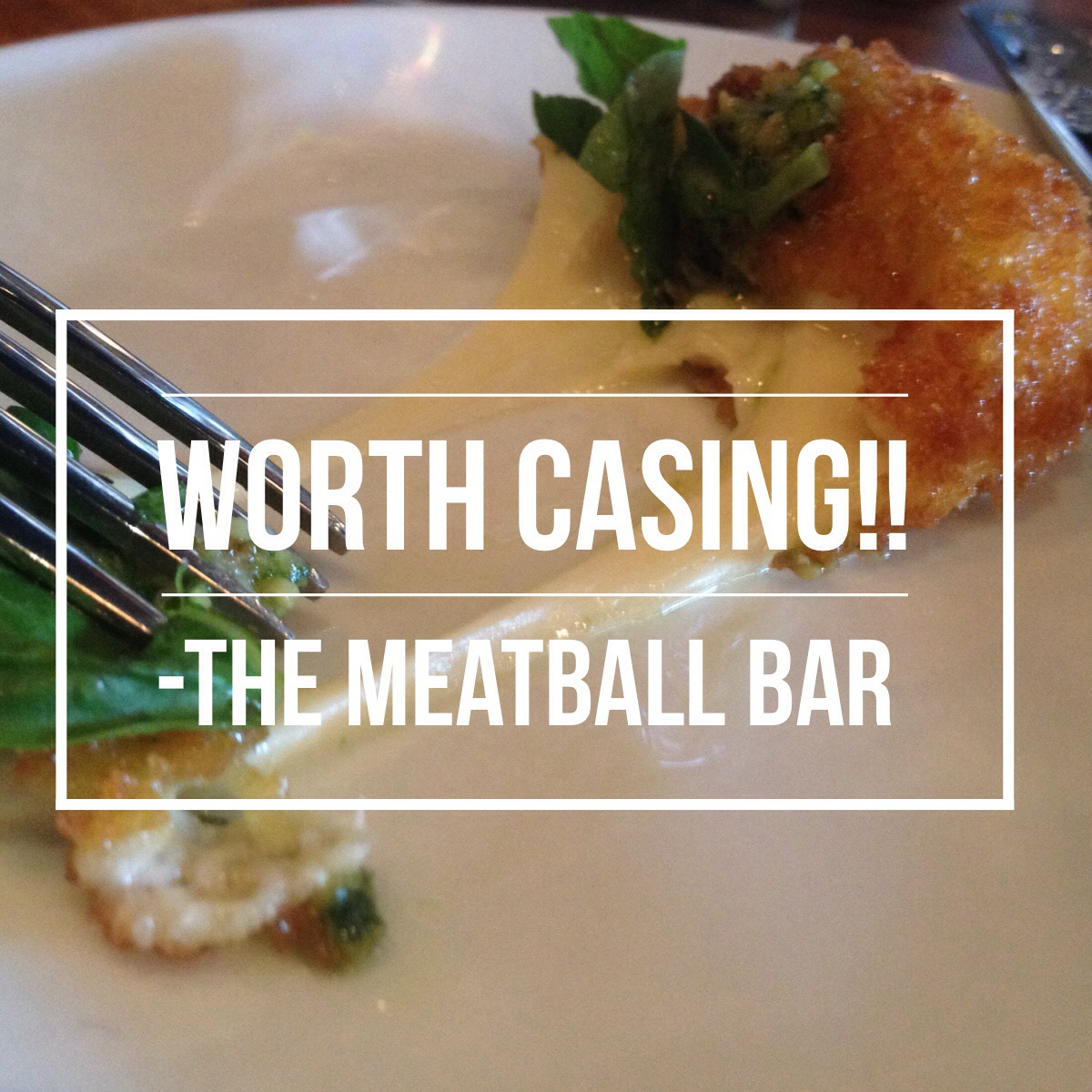 Mystery Case Food Review   Meatball Bar