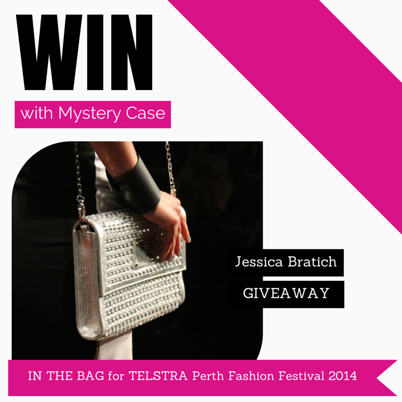 GIVEAWAY | Mystery Case | Perth Blogger | IN THE BAG | TPFF2014