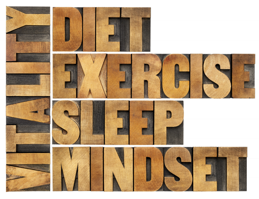 Agent Mystery Case | Vitality Diet Exercise Sleep Mindset