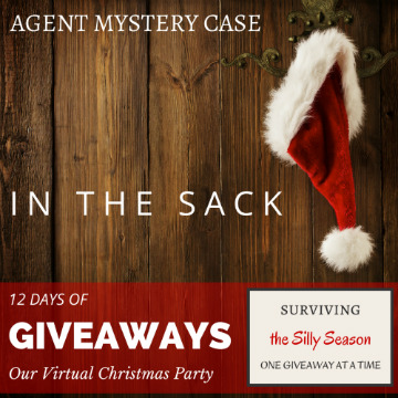 12 days of giveaways with blogger agent mystery case IN THE SACK