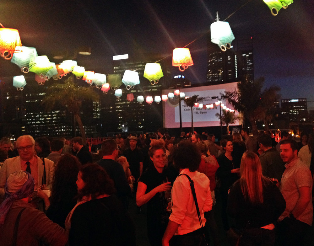 Agent Mystery Case always on the case ROOFTOP MOVIES Perth Event