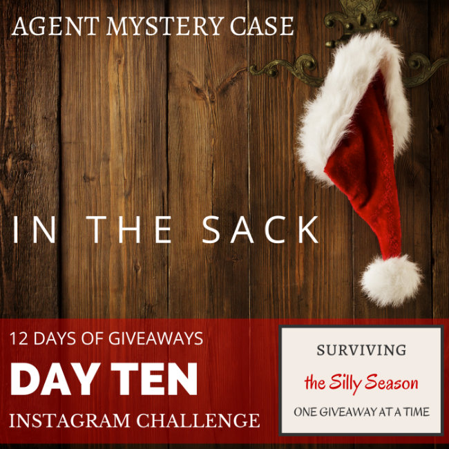 AGENT MYSTERY CASE 12 DAYS OF GIVEAWAYS DAY 10 INSTAGRAM CHALLENGE