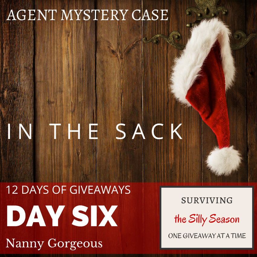 AGENT MYSTERY CASE | IN THE SACK | 12 DAYS OF GIVEAWAYS