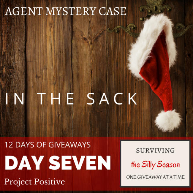 IN THE SACK | 12 DAYS OF GIVEAWAYS with Agent Mystery Case DAY 7 Project Positive