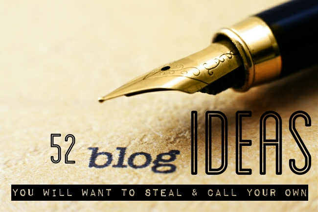 52 Blog Ideas | You will want to steal and call your own | Agent Mystery Case