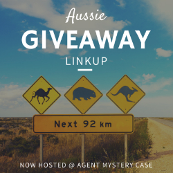 Aussie Giveaway LinkUp now at Agent Mystery Case