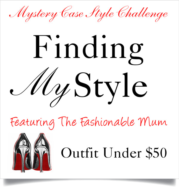 Finding My Style | Mystery Case Style Challenge featuring The Fashionable Mum