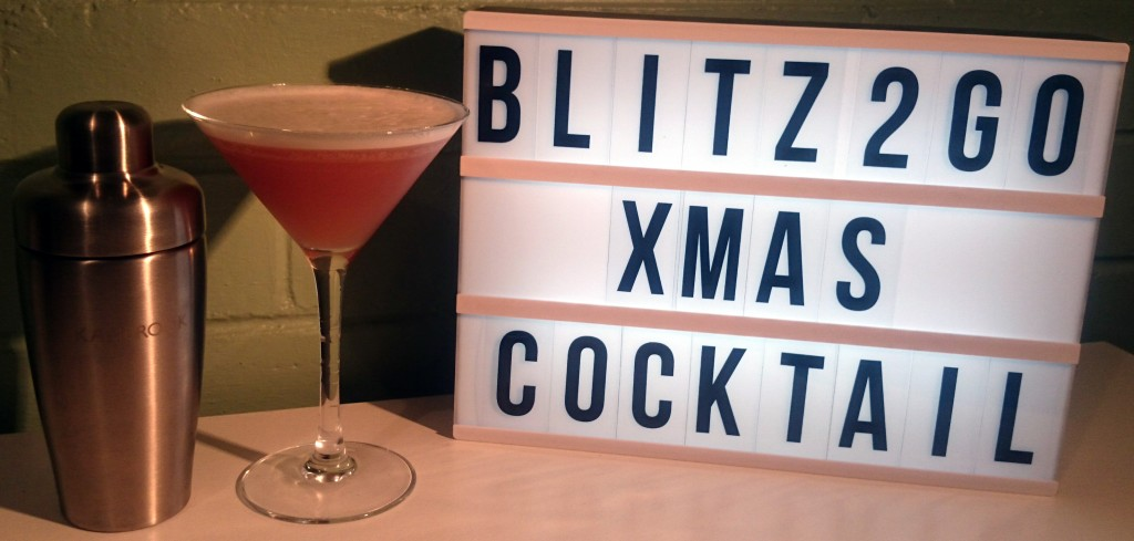 Kambrook Blitz2Go Shake It Kit | Xmas Cocktail