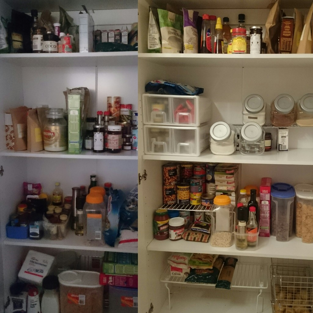 Pantry | Before & After | Make Over | Agent Mystery Case