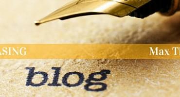 Blogging, Featured Blogger, Max The Unicorn