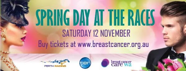 Breast Cancer Care WA | Spring day at the Races | Perth Fundraising