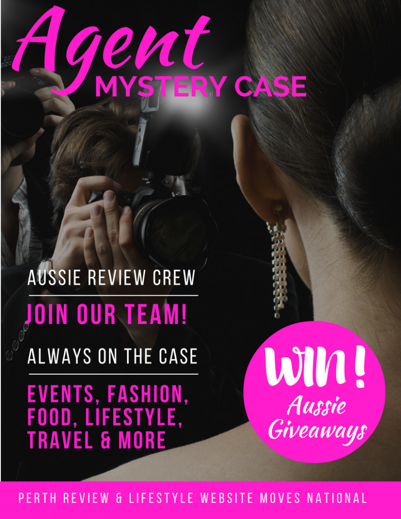 Aussie Reviews, Giveaways, Agent Mystery Case, Aussie Giveaway