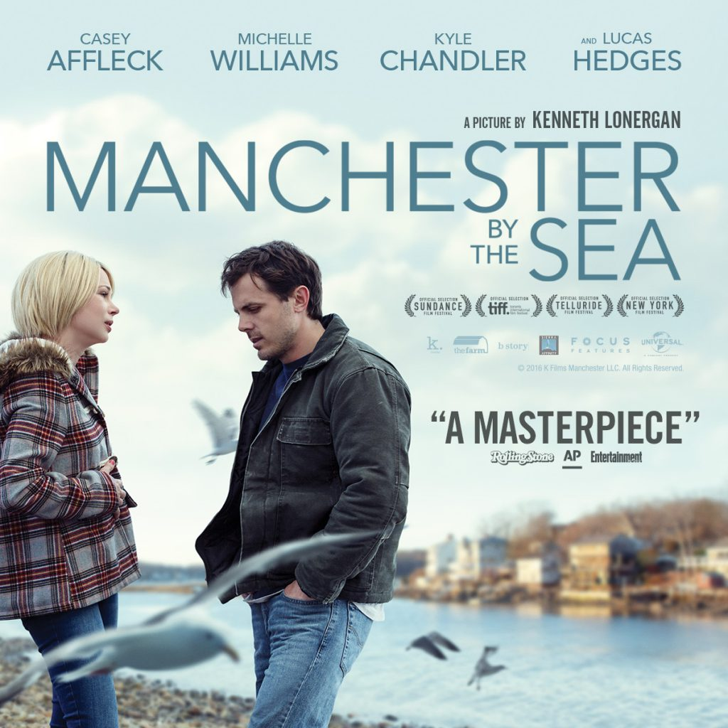 Movie ticket giveaway, Manchester by the Sea