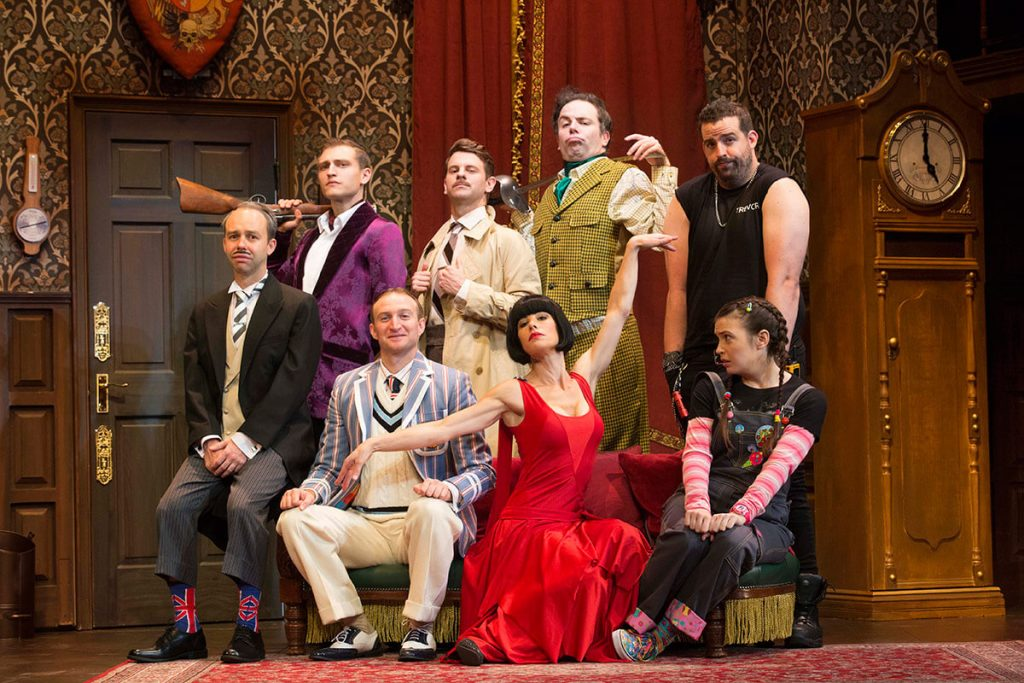 Jeff Busby; The Play That Goes Wrong; Official Image