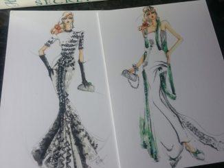 Fashion, Illustration, Michelle Pike, Natasha Lester, Hachette Australia, Her Mother's Secret, Perth Author