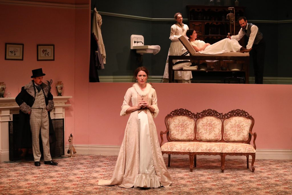 in the next room; perth theatre; perth review; state theatre; black swan theatre