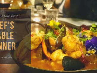 Chef's Table Dinner; Mundaring Hotel