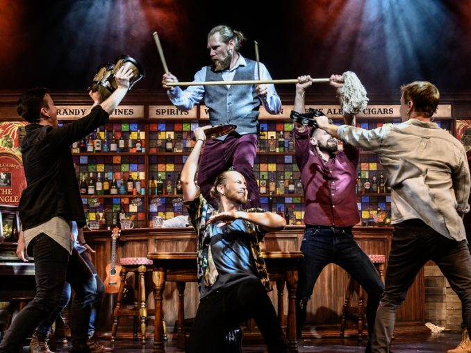 Fringe World Perth   The Choir of Man   Review