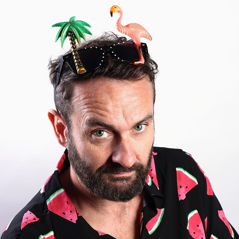 Perth fringe world comedian Gordon Southern