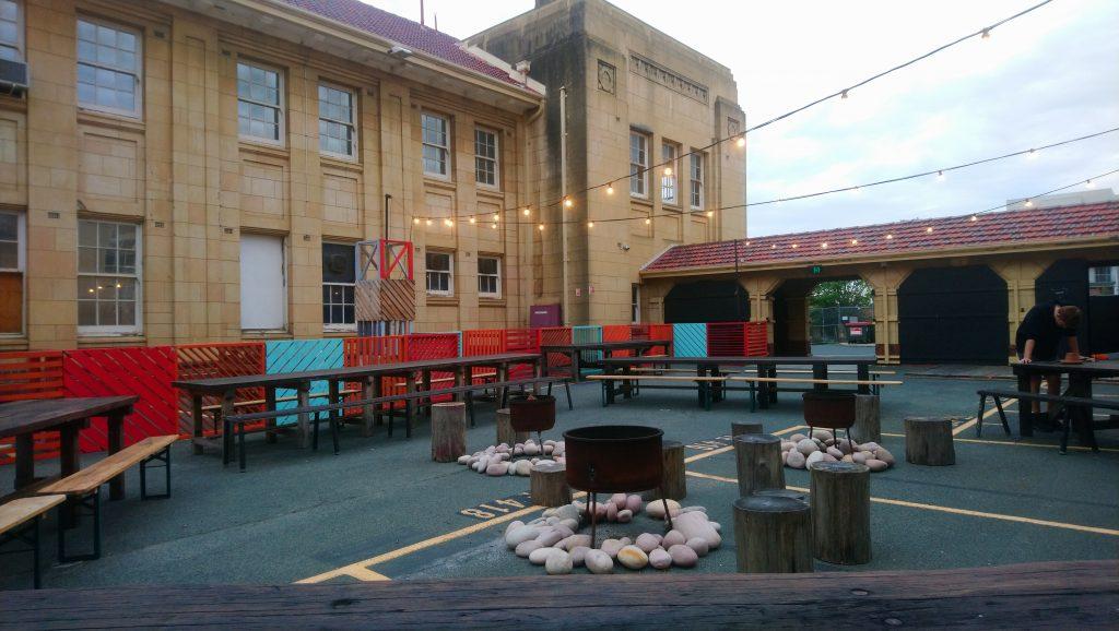 Fire Pit | Girls School Cinema Perth